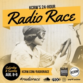 3rd Place Winner, KCRW's 2014 radio race.